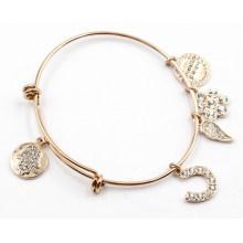 Fashion Bracelet with Custom Made Charms