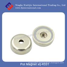 Counter Sunk N40 Neodymium Powerful Pot Magnet