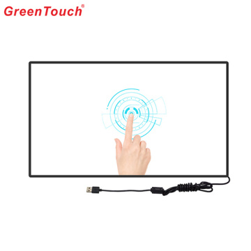 "136 ""Interior Spilcing Ir Touch Screen Display Monitor"