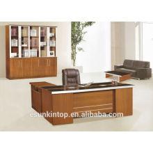 Mobiliário de escritório mesa de escritório móveis de melamina de luxo para