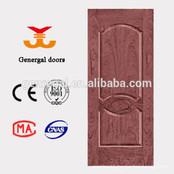 Unfinished thermal insulation interior PU Core mdf door
