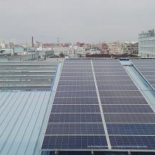 Экономичная цена металлической кровли алюминий панель солнечных батарей на крыше монтажный