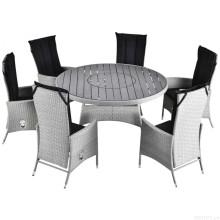 Outdoor-Rattan Dining Set Patio Wicker Gartenmöbel