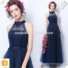 Elegante Ladies Sleeveless Dark Blue formal Royal Blue Wedding Party Dresses for Women 2016