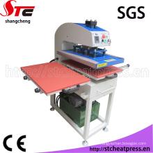 Machine hydraulique automatique de transfert de chaleur pour le textile