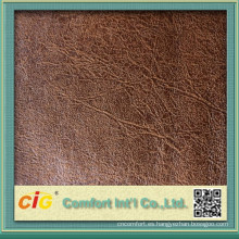 China proveedor de elefante tela del ante para el sofá