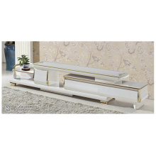 High Quality Glass TV Stand in Living Room Furniture (GA2400)