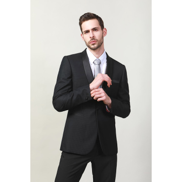 POLY VISCOSE TUXEDO FASHION SUITS FÜR MÄNNER