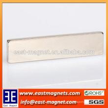 N52 large block permanent strong performance Sintered NdFeB neodymium magnets/custom high grade ndfeb magnet