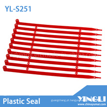Selo de plástico selado de segurança com autotravamento (YL-S251)