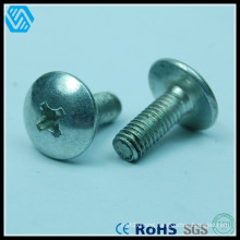 Carbon Steel Mushroom Head Phillips Screw