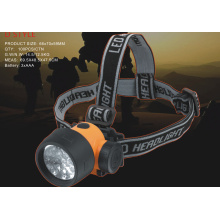 head lamp led Yellow & Black