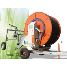 máquina de riego de carrete de manguera de venta caliente