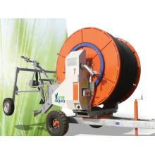 venda quente máquina de irrigação de carretel de mangueira