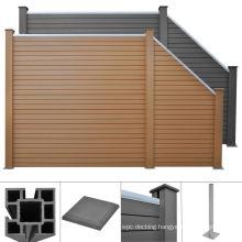 Factory Price WPC Fencing Trellis Aluminum WPC Post Composite Fence