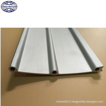 glossy sliver white anodized solar mounting aluminum profile