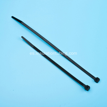 ROHS Black Nylon 66 Plastic Flexible Cable Tie