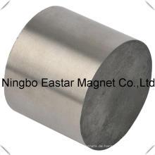 Big Size starke dauerhafte NdFeB Zylinder Neodymmagneten
