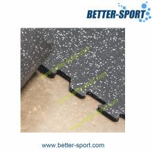 Rubber Gym Mat, Interlocking Rubber Tile, Rubber Tile