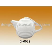Cafetera de cerámica, tetera con filtro, tetera de porcelana, tetera esmaltada en color