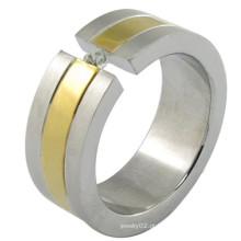 Professional personalizado anel de ouro com design de boa qualidade