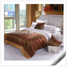 Luxury Good Quality Five Star Hotel Use Decoration Bedspreads