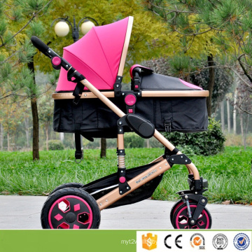 China Manuafacturer Baby Stroller/Buggy 3 in 1 Stroller with Umbrella