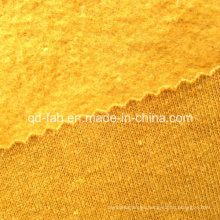 Cáñamo / algodón orgánico teñido cepillado vellón (QF13-0405)