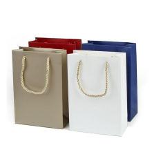 Wholesale Supplier Custom Company Brand Name LOGO Gift Shopping Carrier Paper Bag