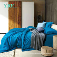 Customized Cotton Hotel 300t Navy Blue Bedding