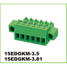 3.5mm Pitch Konektor PCB Terminal Blok Elektronik