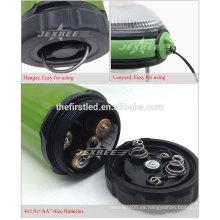 Venta Promoción 500 Lumen de aluminio LED 4X 1.5V AA Camping Lantern Light
