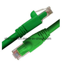 CAT6A Snagless Unshielded UTP Network Patch Cable 10 Gigabit Green