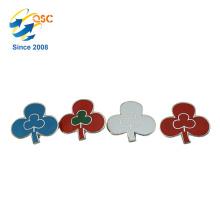 Custom Meta Hard Enamel Pin Flower Design