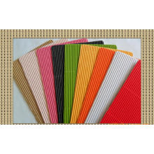 80GSM Mixed Colors Corrugated Paper