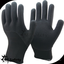 SRsafety Двойной лайнер латексная пена зимние перчатки безопасная перчатка