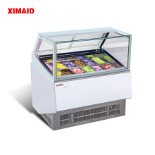 Морозильная витрина 12 сковороду с морозильной камерой