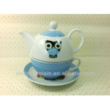 Hot Porcelain One Person Tea Set for BS131222B
