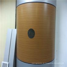 Bambus Textur Arc Shaped Wabenplatten für Säulenverkleidung