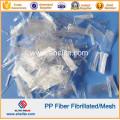 Synthetic Fibre PP Fibrillated Fiber for Concrete