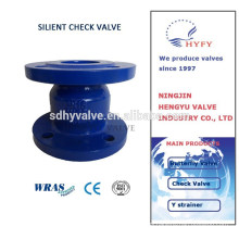 Silent vertical check valve