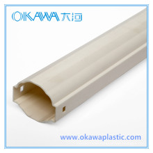 PVC/PC/ABS Plastic Extrusion Parts Manufacturer
