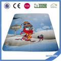 Couverture personnalisée de polaire d'impression de logo fait sur commande (SSB0191)