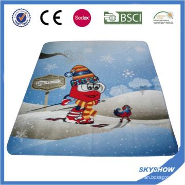 Couverture promotionnelle de polaire de logo d'impression faite sur commande promotionnelle (SSB0210)