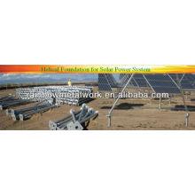 Solar-Fundament Anker