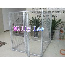 Bonne vente grande cage pour animaux de compagnie chien cage chien chenil pet maisons transporteurs