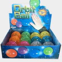 LED luminous bouncing ball flash bouncing meteorite ball pet toy luminous toy