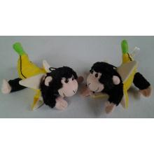 Macaco da banana EUA Reino Unido Animal enchido da peluche