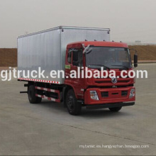 4X2 unidad 10T Dongfeng van camión / 10T Dongfeng van caja camión / Dongfeng cargo caja camión / Dongfeng van caja camión / Dongfeng camión de carga