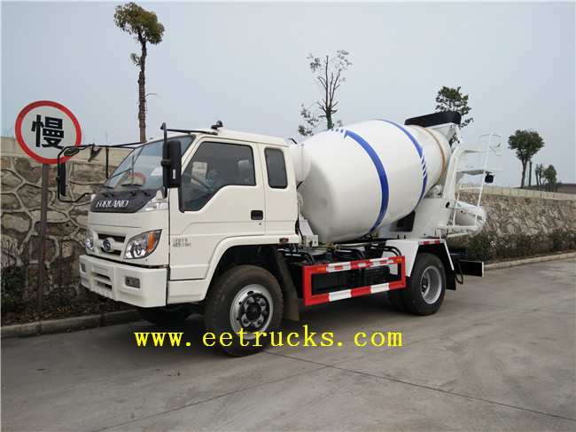 6000L Concrete Mixer Trucks